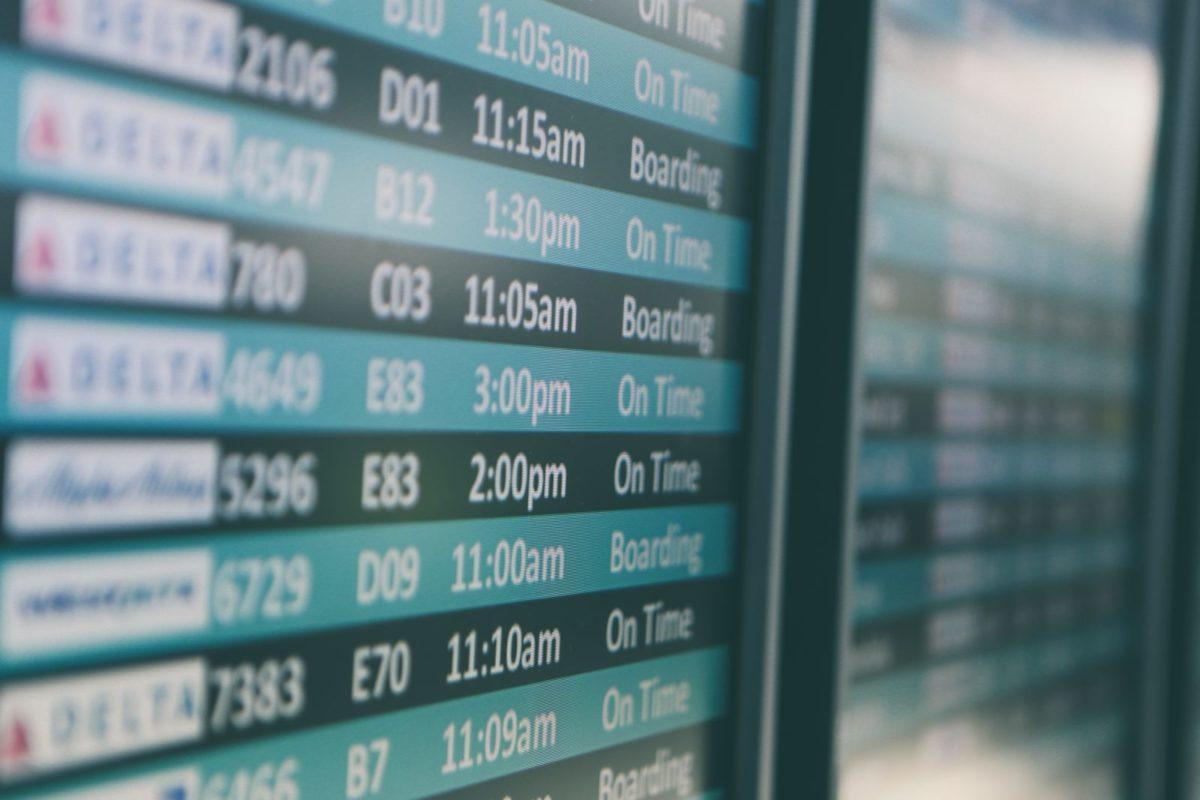 Уведомление о переносе рейса