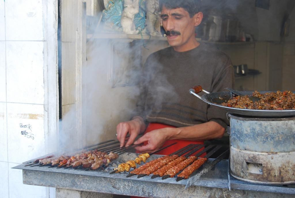 Turkish street food photo